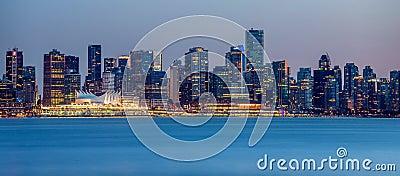 Vancouver city panorama