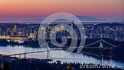 Vancouver City Sunrise