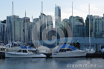 Vancouver coal harbour Editorial Photo
