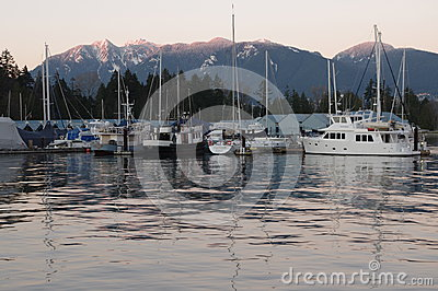 Vancouver coal harbour Editorial Stock Image
