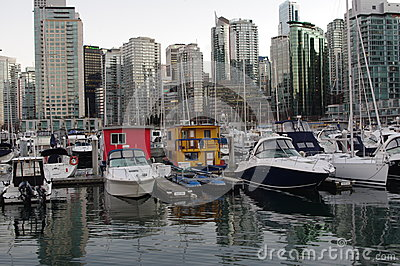 Vancouver coal harbour Editorial Stock Photo