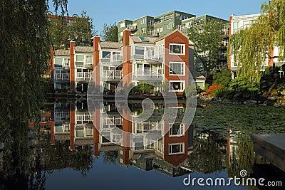 Vancouver Condominium Building Reflection