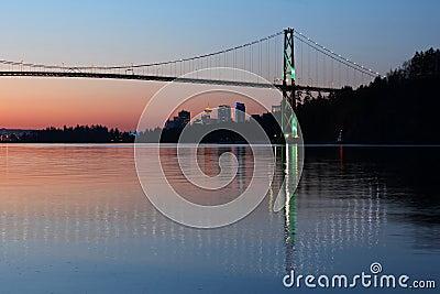 Vancouver-Dämmerung