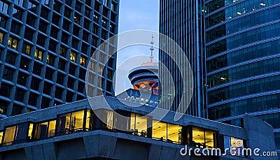 Vancouver an der Dämmerung