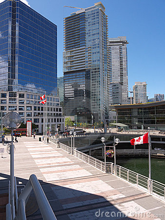 Vancouver Downtown and convention center