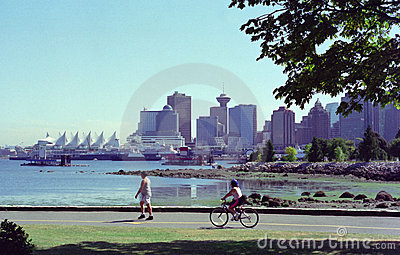 Vancouver Harbor British Columbia Canada