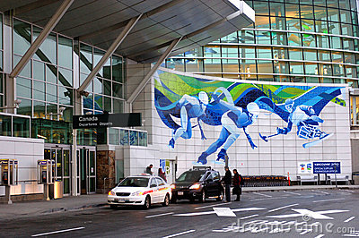 Vancouver International Airport Editorial Photography