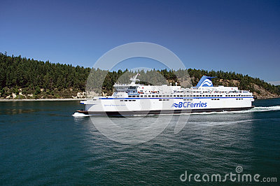 Vancouver Island Ferry Editorial Image