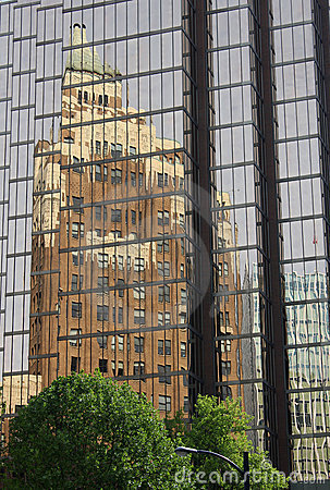 Vancouver Marine Building Reflection