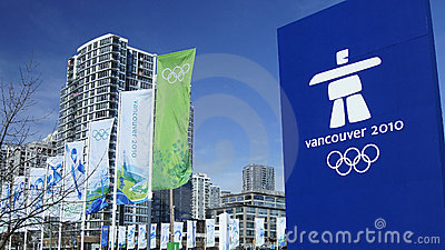 Vancouver Olympics Editorial Photo