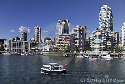 Vancouver Skyline - Canada Editorial Photo