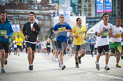 2013 Vancouver Sun Run Editorial Photography