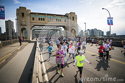 2013 Vancouver Sun Run Editorial Stock Image