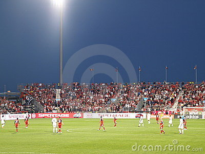 Vancouver at Toronto FC Editorial Photography