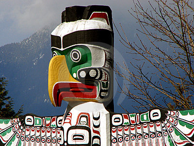 Vancouver Totem, BC, Canada