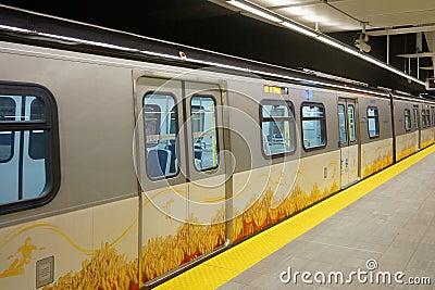 Vancouver Transit Editorial Image