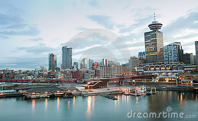 Vancouver waterfront Editorial Photography