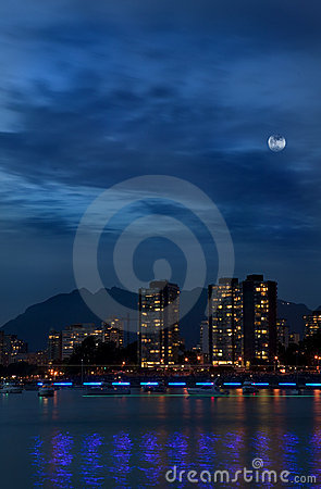 Vancouver West End Night