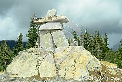 Vancouver Whistler Olympics 2010 Inukshuk