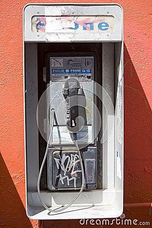 Vandalized Payphone 2