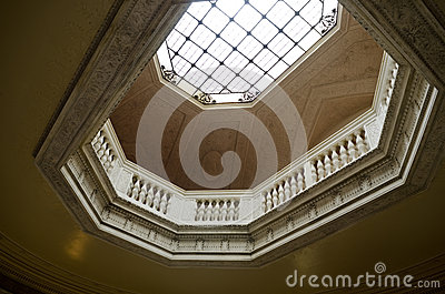 Vanderbilt Mansion skylight Hyde Park, NY Editorial Photo