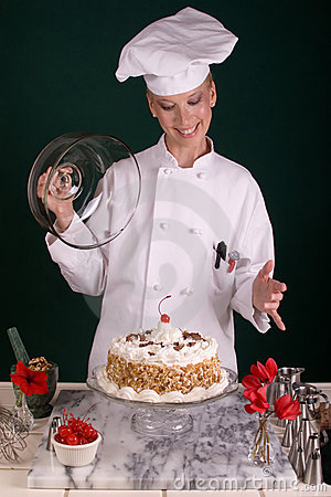 Vanilla Buttercream Chocolate Cake