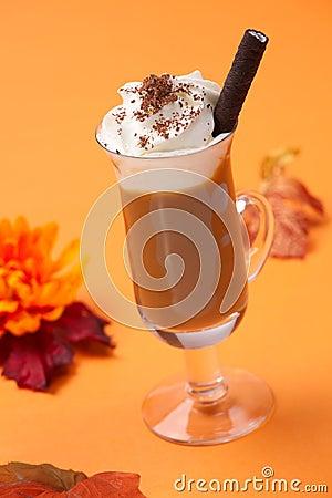 Free Vanilla Chocolate Chip Coffee Cocktail Royalty Free Stock Photo - 11199965