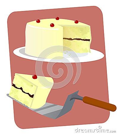 Vanilla Layered Cake