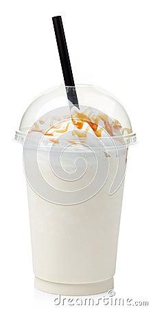 Free Vanilla Milkshake Stock Image - 44432571