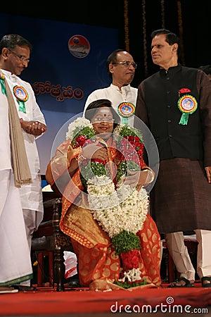 Vanisree -Telugu cinema actress Editorial Photography