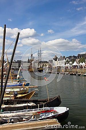 Vannes port Editorial Image