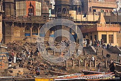 Varanasi, India Editorial Photo