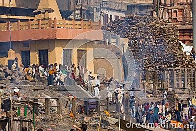 Varanasi, India Editorial Stock Image