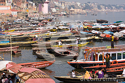 Varanasi, India. Editorial Stock Image