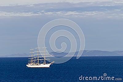 Varend schip