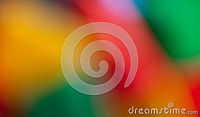 Varicolored blur background