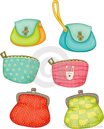 Free Varieties Of Ladies Purses Stock Photos - 14256533