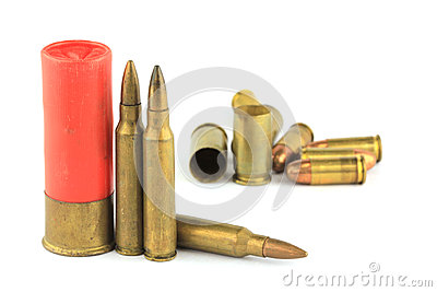 Variety of ammunition