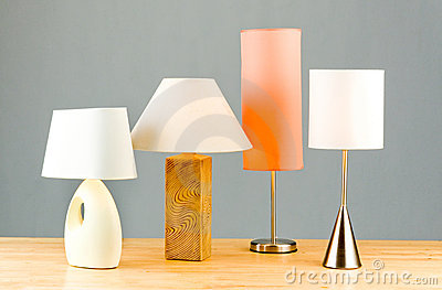 Bedside lamps decoration items