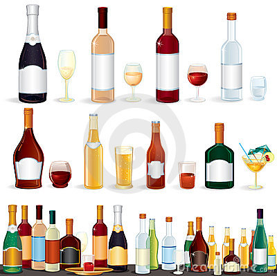 Free Variety Beverages Royalty Free Stock Image - 20305576
