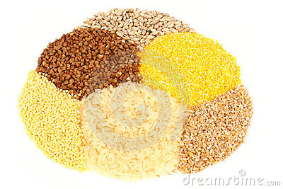Variety of cereals
