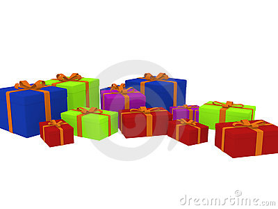 Variety of gift boxes