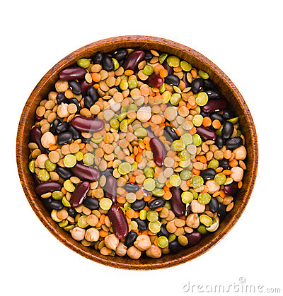 Free Variety Of Legumes Stock Image - 28719351