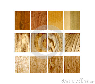 Free Variety Of Wood Samples Stock Photo - 36944940