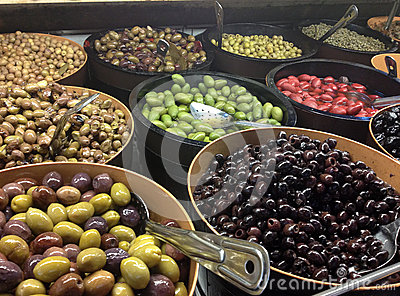 Variety Of Olives