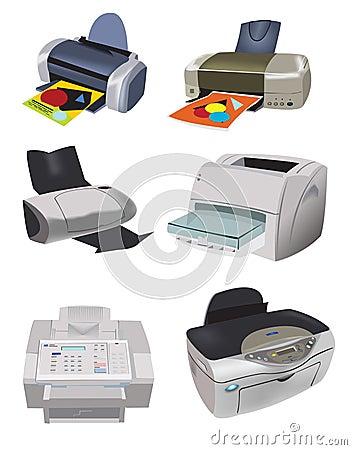 Variety of Printers