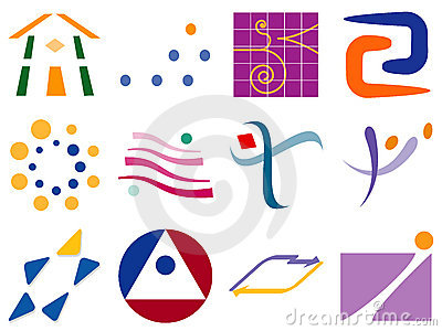 Various Abstract Vector Logo Icon Design Elements