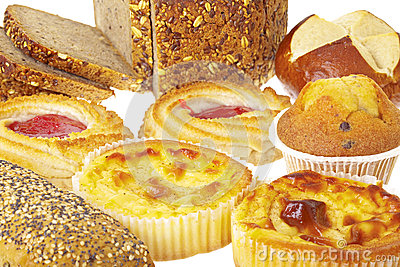 Various bakery products