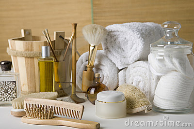Various bathroom products