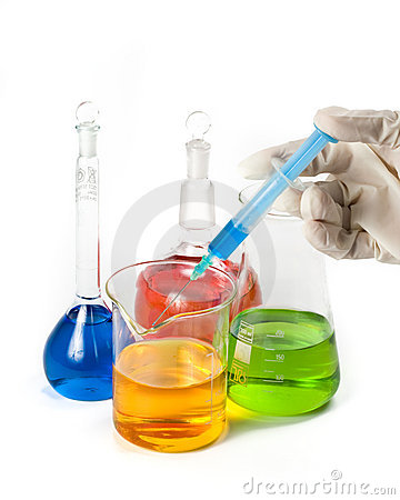 Free Various Colorful Flasks Stock Photo - 5055380